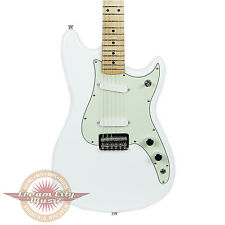 Fender Duo Sonic with Maple Fingerboard in Aged White Demo