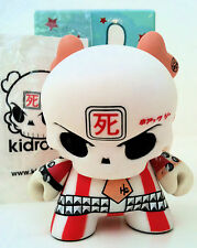"DUNNY 3"" SERIES 4 HUCK GEE RED SKULLDUNNY RARE CHASE ?/? KIDROBOT 2007 TOY VINYL"