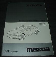 Werkstatthandbuch Elektrik Mazda Xedos 6 elektrische Schaltpläne Stand 06/1994!