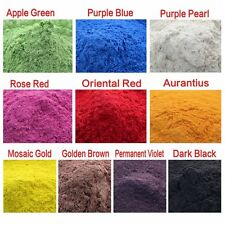 Cosmetic Grade Natural Mica Powder Soap Candle Colorant Dye Red/ Blue/ Black