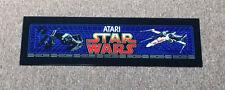 ATARI STAR WARS Arcade Machine PLEXI MARQUEE - AMAZING ARTWORK