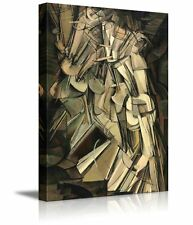"""Nude Descending a Staircase No. 2 by Marcel Duchamp - Canvas Print - 24"""" x 36"""""""