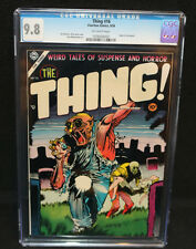 The Thing #16 - Injury to Eye Panel - CGC Grade 9.8 - 1954
