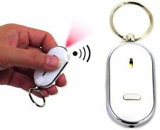 Mini Whistle Sound Remote LED Light Torch Wireless Anti-Lost Key Finder Keychain