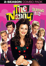 NEW The Nanny: The Complete First & Second Season DVD 2014, 4-Disc Set FREE SHIP