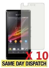 10 X Clear Screen Protectors Cover Film for Sony Xperia M /C1904 /C1905 & Cloth