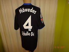 "FC schalke 04 Adidas paramètre régional maillot 2009/10 ""Gazprom"" + Nº 4 Höwedes taille L top"