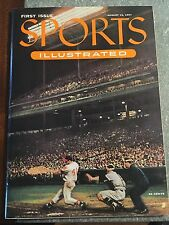 Vintage Aug 16th 1954 1st Issue of Sports Illustrated W/Trading Card Insert