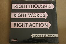 Franz Ferdinand - Right Thoughts Right Words Right Action CD NEW SEALED