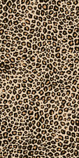 Leopard Print Beach Towel