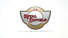 Royal enfield pvc autocollant marron clair/noir/rouge intercepteur, Bullet GT