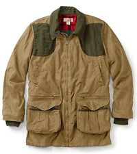 FILSON Light Shooting Jacket Coat Small NWT Tan/Otter Green $465 Retail