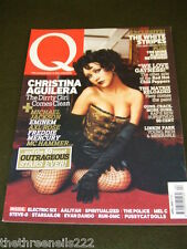 Q MAGAZINE #201 - CHRISTINA AGUILERA - APRIL 2003