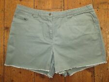 Ladies Khaki Jeans - Style Shorts / Hot Pants - size 14
