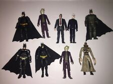 "Dc Comics Batman The Dark Knight 3.75"" Figure Lot Joker Two Face Bank Robber"