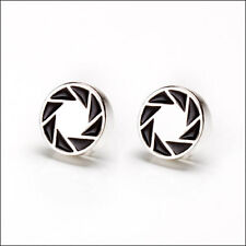 Portal 2 Aperture 80s Logo Earrings Jewelry Official Licensed Cosplay Costume