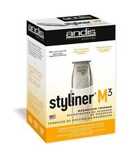 Andis Styliner M3 Professional Magnesium Hair Trimmer Wide T Blade 26155  New