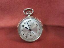 Alta calidad KIENZLE reloj de bolsillo pocket watch acero inoxidable funcionan mecánicamente 1469