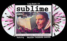 SUBLIME Robbin the Hood 2xLP on CLEAR with PINK/BLACK SPLATTER VINYL New SEALED