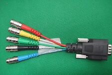 OEM Extron 26-531-01 REC E Cable VGA Male DB15 to 5 X Female BNC RGB RGBHVM 10CM