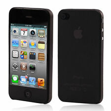 Ultra mince Apple iPhone 4S 0,3 mm 4 dur housse de protection TPU coque noir