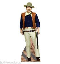 JOHN WAYNE w/ WINCHESTER RIFLE LIFESIZE CARDBOARD STANDUP STANDEE CUTOUT POSTER
