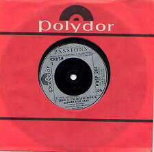 THE PASSIONS - rare 7'' (45 tours) - UK