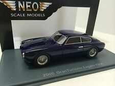 Neo Scale Models 1/43 Maserati A6G Coupè Zagato 1954 Blue Art. Neo45647