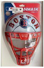Boston Red Sox MLB Baseball Backstop Catcher Helmet Mask