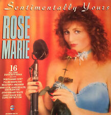 """Rose Marie - Sentimentally Yours Vinyl LP 33rpm 12""""  16 All Time Favourite Songs"""