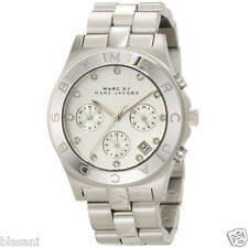 Marc by Marc Jacobs Original MBM3100 Blade Women's Silver Chrono Watch