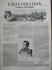 L' ILLUSTRATION 1843 N 32 LE GENERAL ANASTASIO BUSTAMANTE REVOLUTION AU MEXIQUE