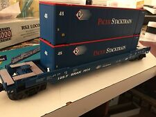 MTH Rail King, Husky Stack car, Pacer Stacktrain  30-76321