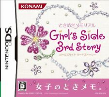 Used Nintendo DS Tokimeki Memorial Girl's Side 3rd Story Japan Import