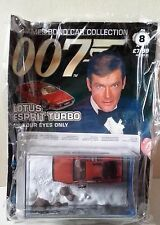 The James Bond Car Collection no 8 Lotus Esprit Turbo with magazine sealed