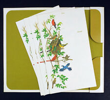 Postettes Birds Birdhouse Vintage 19 Notes and 20 Seals A Sunshine Note 2-631