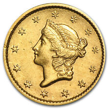 $1 Liberty Head Gold Coin - Type 1 - Random Year - Extra Fine - SKU #4027