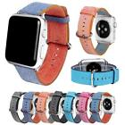 Woven Nylon Silicone Bracelet Strap Sports Band For iWatch Apple Watch 38/42mm