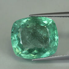 "11+cts""Certified""Mozambique""Bluish Green Paraiba Color"" Unheat Tourmaline""PR415"