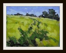 Oil Seed Rape : Original Impressionist Oil Painting on Board  Shaun Viney