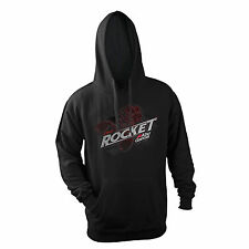 ABU Garcia Revo Rocket Reel Hoodie Black Hooded Sweatshirt Adult Size MEDIUM