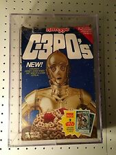 STAR WARS KELLOGG'S C-3PO's CEREAL BOX. UNOPENED SEALED MISB