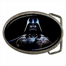NEW* HOT DARTH VADER STAR WARS Quality Chrome Belt Buckle Gift D03