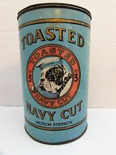 No. 3 TOASTED NAVY CUT New Zealand Tobacco Tin Dated 1943