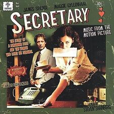 Secretary [Music from the Motion Picture] by Angelo Badalamenti (CD,...