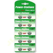 100 Button Cell Batteries A76 AG13 LR44 357 SR44 GPA76