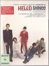 SHINee: Hello - 2nd Album Lucifer Repackage (2010) CD & BOOKLET TAIWAN SEALED