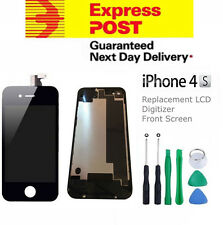 For iPhone 4S Replacement LCD Digitizer Front & Back Screen Assembly Tool Black