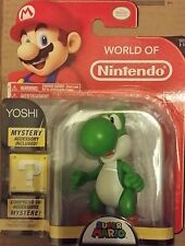 World of Nintendo 4-Inch Super Mario Bros. Yoshi Action Figure - New in stock