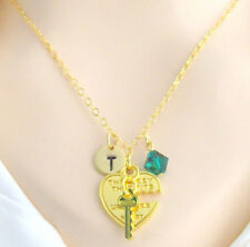 Key to My Heart Necklace,His and Her Necklaces,Hold the key and Unlock My Heart